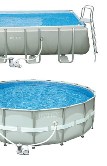 Verschil tussen Intex Metal frame Pool Ultra frame pool