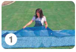 Opzetten Intex Easy Set Pool - stap 1