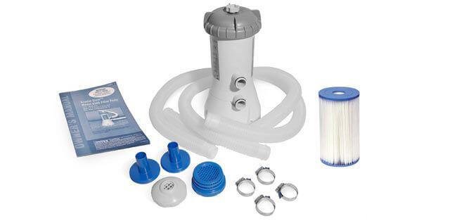 Inhoud verpakking Intex filterpomp 2271
