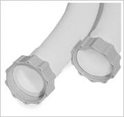 Intex Filterpomp 5678 - Slangen dankzij schroefdraad simpel te bevestigen