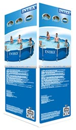 Verpakking intex metal frame pool