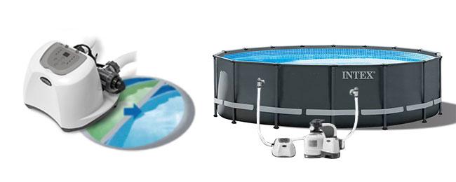 Zoutwatersysteem Intex