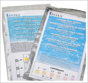 Teststrips Intex Zoutwatersysteem
