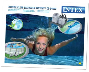 Zoutwatersysteem intex verpakking