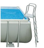 Intex ultra frame pool 488 - ladder