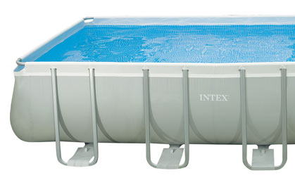 Intex Ultra Frame Pool Uitsnede