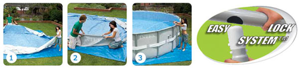 Intex ultra frame pool 488 opzetten