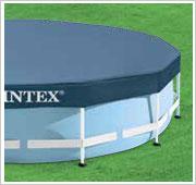 Intex Metal Frame Pool inclusief afdekzeil