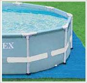 Intex Prism Frame Pool inclusief grondzeil