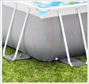 Stevige Intex prism frame pool wanden