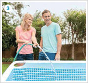 Intex Prism Frame Pool opzetten stap 3