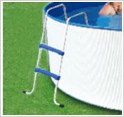 Staalwandpool ladder