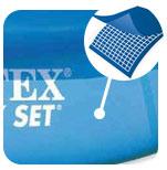sterke liner intex metal frame pool