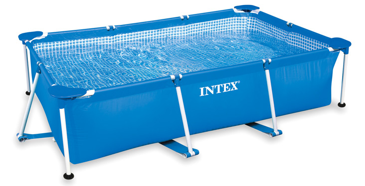 Intex metal frame pool 300