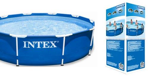 Intex metal frame pool 305 cm