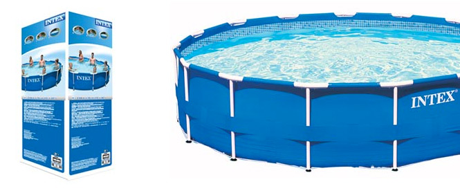 Intex metal frame pool 366 cm