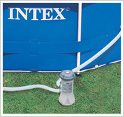 Intex Metal Frame Pool 457 inclusief filterpomp
