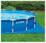 Intex Metal Frame Pool inclusief grondzeil