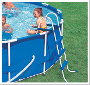 Intex Metal Frame Pool inclusief ladder