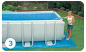 Intex Ultra Frame Pool opzetten stap 3