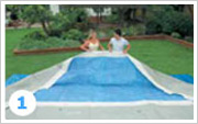 Intex ultra Frame Pool opzetten stap 1