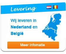 Levering door heel Nederland en België
