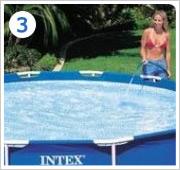 Intex Metal Frame Pool opzetten stap 3