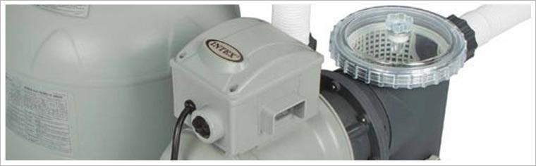 Intex zandfilterpomp 6000 liter per uur