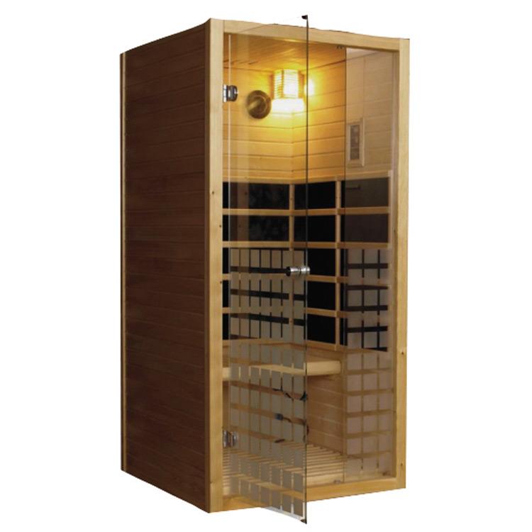 Afbeelding van 1-persoons Carbon Infrarood Sauna js-6101