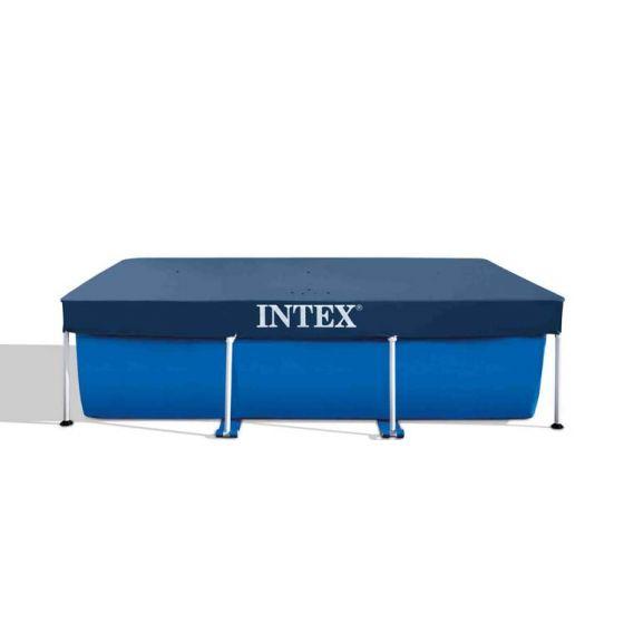 INTEX™-afdekzeil---Metal-Frame-Pool---300-x-200-cm