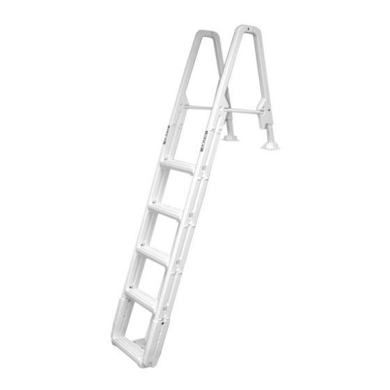 Eenzijdige-kunststof-deckladder-(Inbouw)