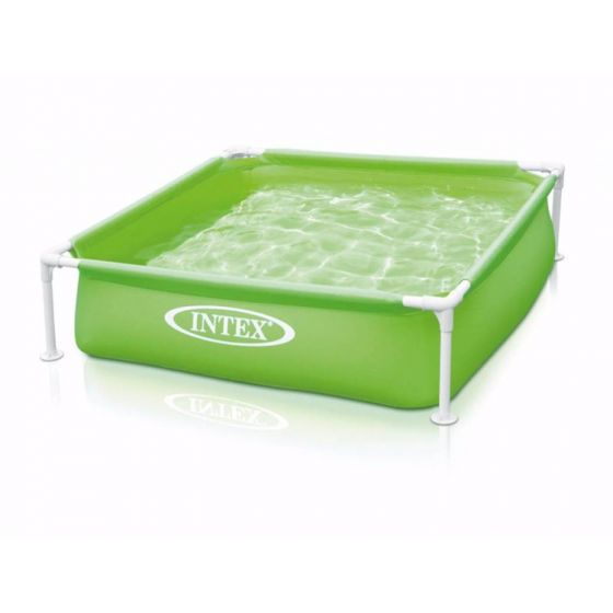 INTEX™-kinderzwembad---Mini-Frame-Pool---groen-(122-x-122-cm)