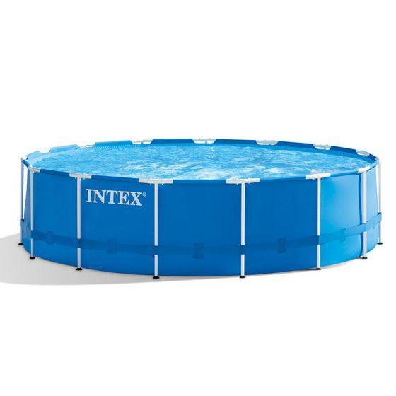 INTEX™-Metal-Frame-Zwembad---Ø-457-x-122-cm-(set)