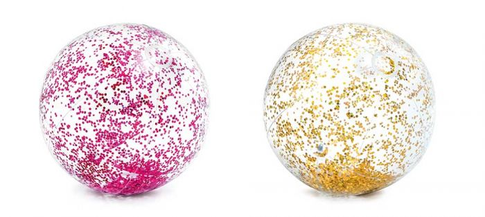 INTEX™-Bal-transparant-met-glitter