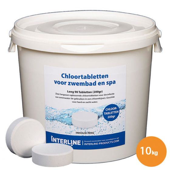 Chloortabletten-10kg/200gr.