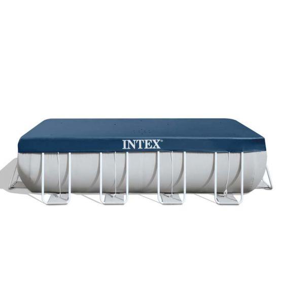 INTEX™-afdekzeil---Frame-Pool-400-x-200-cm