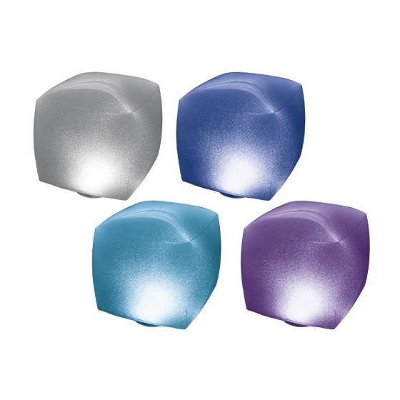 INTEX™-led-kubus-drijvend-opblaasbaar