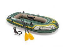 INTEX™-Opblaasboot---Seahawk-2-Set-(incl.-peddels-&-pomp)