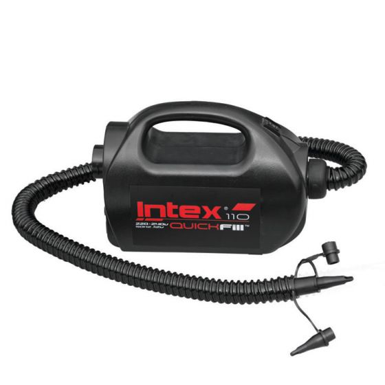 INTEX™-luchtpomp-(hoge-druk)---Quick-Fill-High-PSI-220V-/-12V