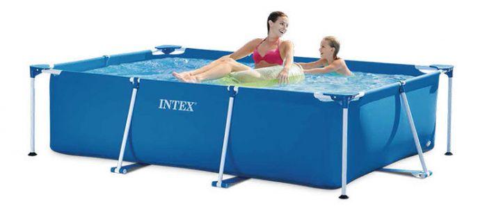 INTEX™-Metal-Frame-Pool---220-x-150-cm