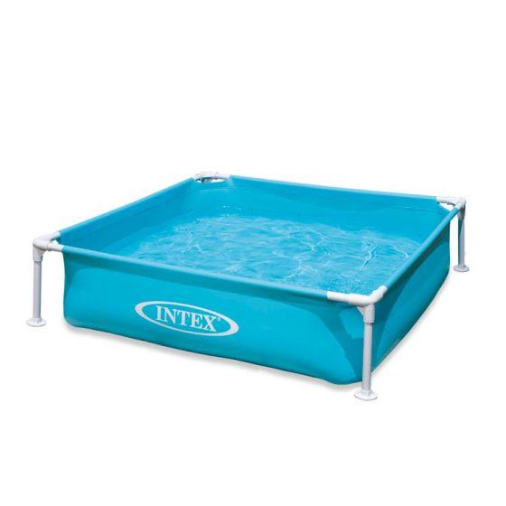 INTEX™-kinderzwembad---Mini-Frame-Pool---blauw-(122-x-122-cm)