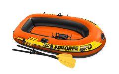 INTEX™-Opblaasboot-Explorer-Pro-200-(incl.-peddels-&-pomp)