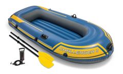 INTEX™-Opblaasboot---Challenger-2-Set