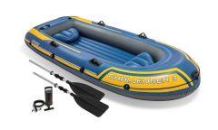INTEX™-Opblaasboot---Challenger-3-Set