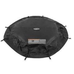 INTEX™ PureSpa afdekzeil zwart - 4pers. octagon spa