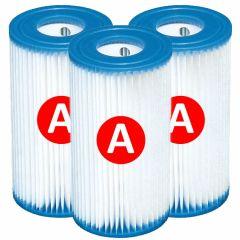INTEX™ filtercartridge type A - 3 stuks