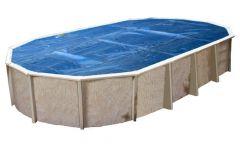 Interline zomerafdekzeil 12,50 x 6,40 m (ovaal)