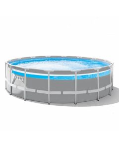 Intex Prism Frame Premium Ø 488 Clearview zwembad