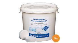 Chloortabletten 5kg/200gr.