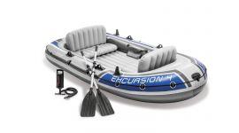 INTEX™ Opblaasboot - Excursion 4 Set